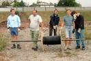 Herbst 2003 - Beginn Sportplatzbau